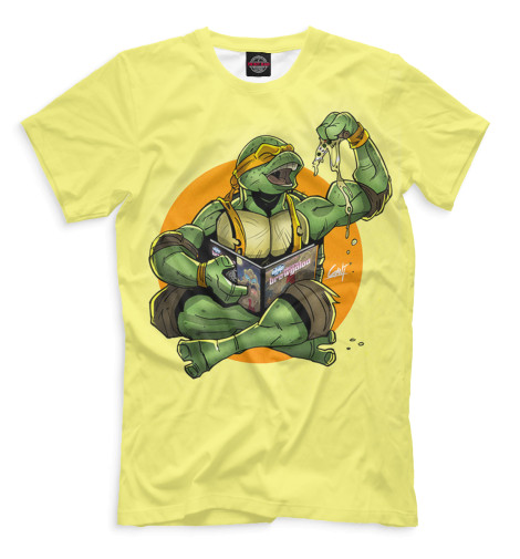 Мужская футболка Микеланджело