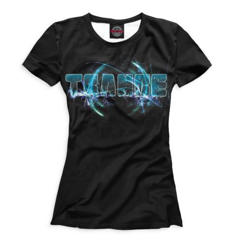 Купить Женская футболка Trance MUS-368208-fut-1