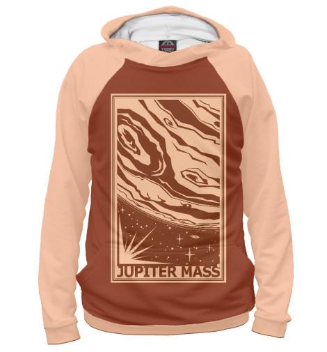 Фото - Мужское худи Jupiter Mass от Print Bar белого цвета