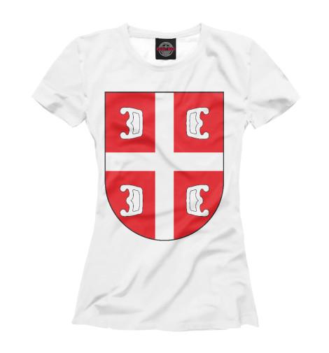 Футболка Print Bar Сербский Щит футболка print bar сербский щит