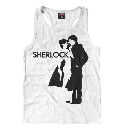 Майка борцовка Print Bar Шерлок - Sherlock майка классическая printio шерлок холмс sherlock