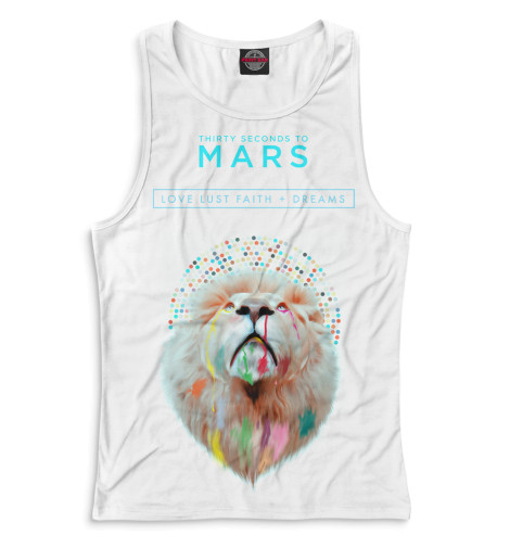 Майка борцовка Print Bar Love Lust Faith + Dreams 30 seconds to mars love lust faith dreams cd