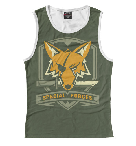 Майка Print Bar Special Forces Foxhound майка print bar special forces foxhound