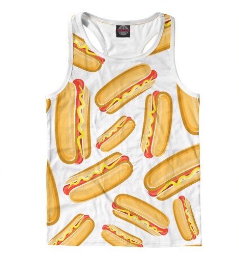 Майка борцовка Print Bar Hot Dog худи print bar hot dog