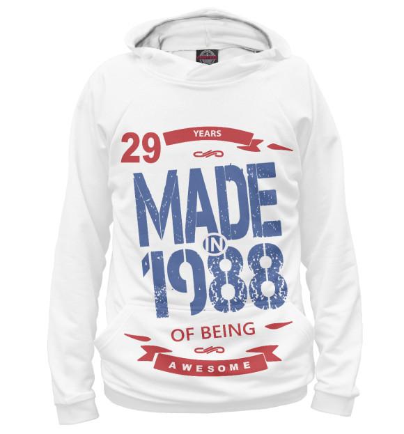 Купить Мужское худи Рожденный в 1988 DVV-723201-hud-2