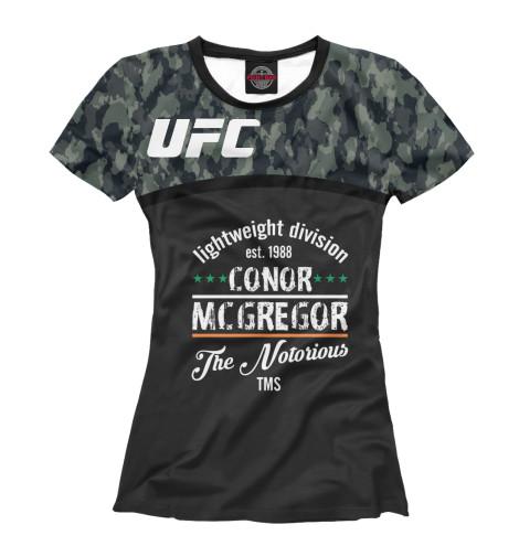 Футболка Print Bar UFC Конор МакГрегор ufc 2 ps4