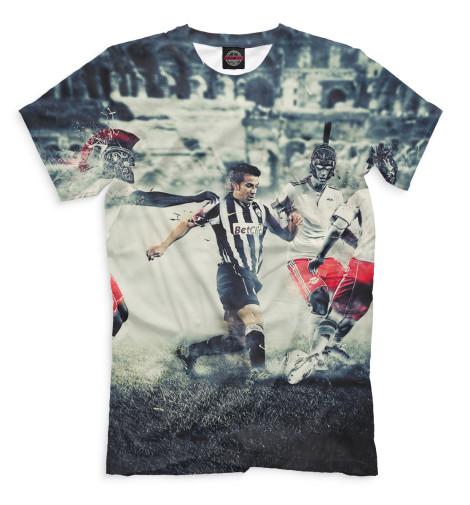 Мужская футболка Дель Пьеро в атаке