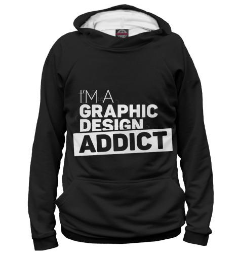 Худи Print Bar Graphic design addict graphic print fit
