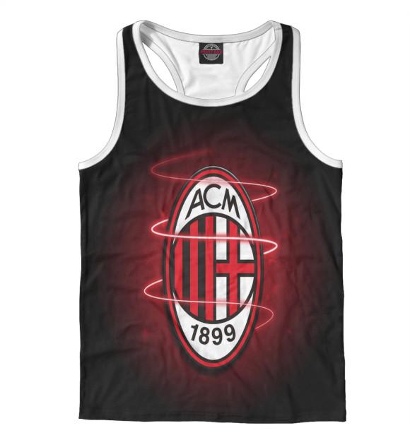 Купить Мужская майка-борцовка AC Milan Logo ACM-553130-mayb-2