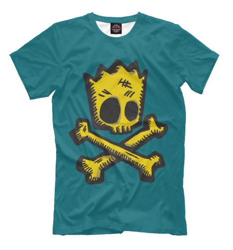 Футболка Print Bar Bart Bones футболка print bar bart bones