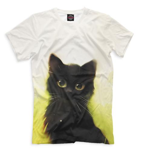 Купить Мужская футболка Коты CAT-662749-fut-2