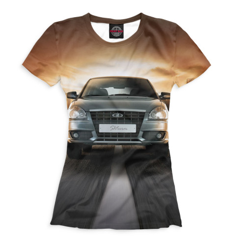 Женская футболка LADA Priora