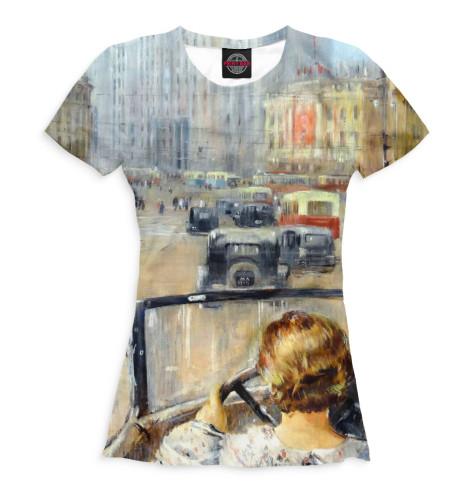 Женская футболка Новая Москва