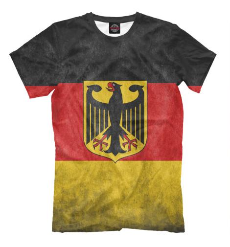 Футболка Print Bar Флаг Германии свитшот print bar флаг германии