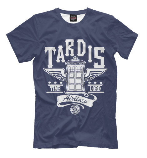 Футболка Print Bar Tardis Airlines