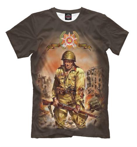 Футболка Print Bar Русский солдат сергей булдыгин моонзунд 1941 русский солдат сражается упорно и храбро…