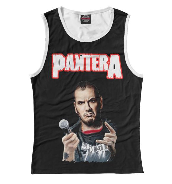 Купить Женская майка Pantera Phil Anselmo PNT-736812-may-1
