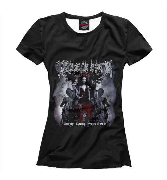 Купить Женская футболка Cradle Of Filth MZK-588247-fut-1