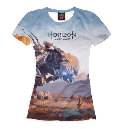Футболка Print Bar Horizon Zero Dawn