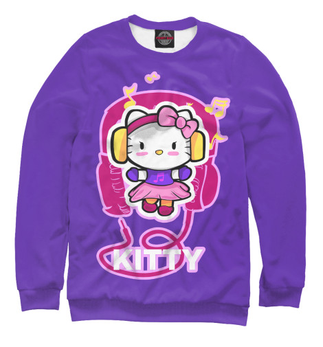 Свитшот Print Bar Hello Kitty набор для плавания hello kitty hey32623 очки шапочка