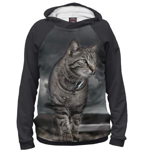 Купить Женское худи Кот CAT-735060-hud-1