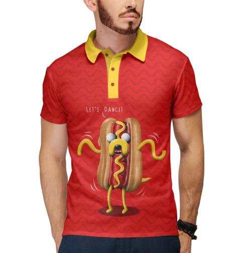 Купить Мужское поло Jake Hot Dog ADV-167357-pol-2