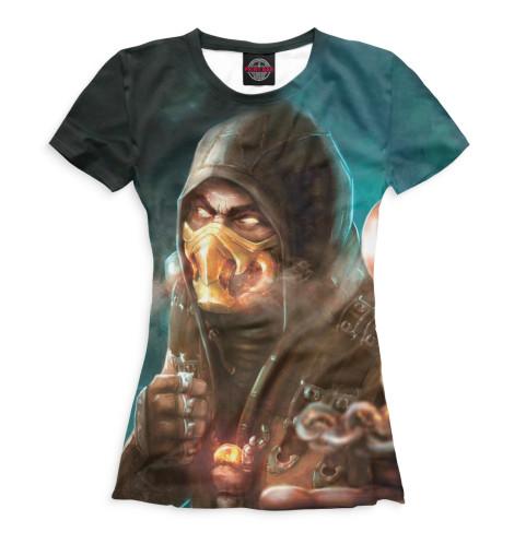 Женская футболка Scorpion