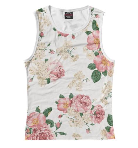 Купить Женская майка Цветы CVE-869690-may-1