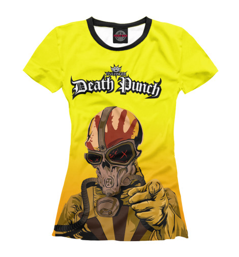 Футболка Print Bar Five Finger Death Punch War Is the Answer машины daesung модель машина пожарная 404