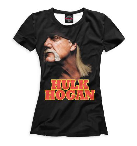 Женская футболка Халк Хоган