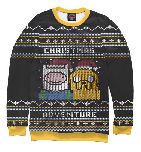 Свитшот Print Bar Christmas Adventure свитшот print bar adventure fiction