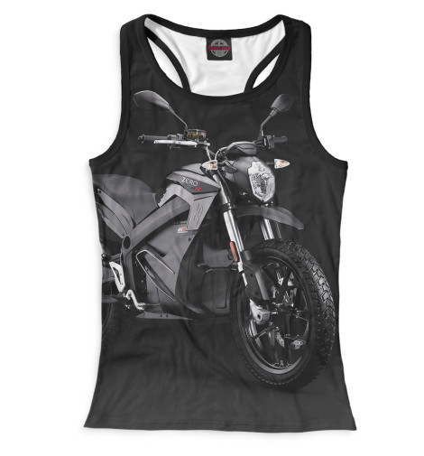 Женская майка-борцовка Мотоцикл