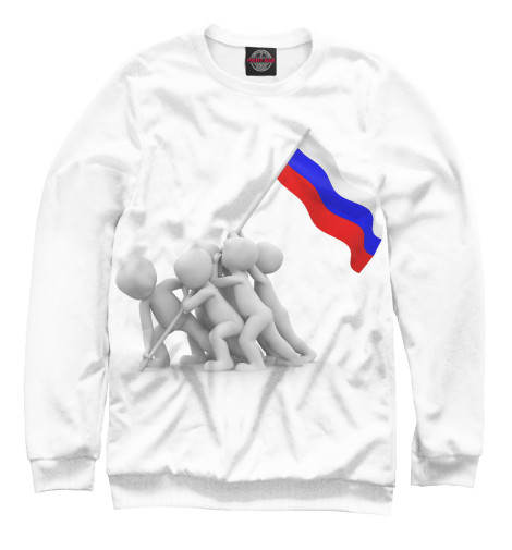 Свитшот Print Bar Флаг флаг пограничных войск россии великий новгород