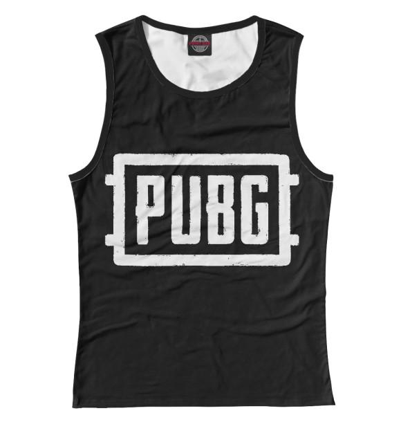 Купить Женская майка PUBG PBG-759488-may-1