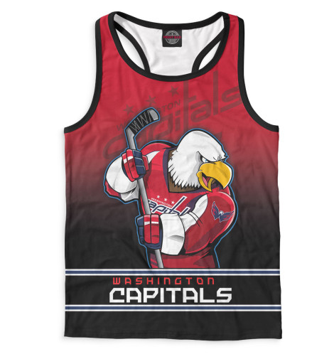 Майка борцовка Print Bar Washington Capitals tryp madrid centro ex tryp washington 3 мадрид