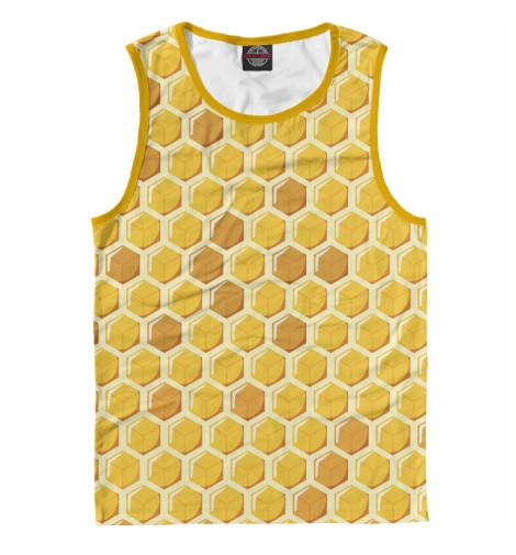 Майка Print Bar Медовые соты худи print bar медовые соты