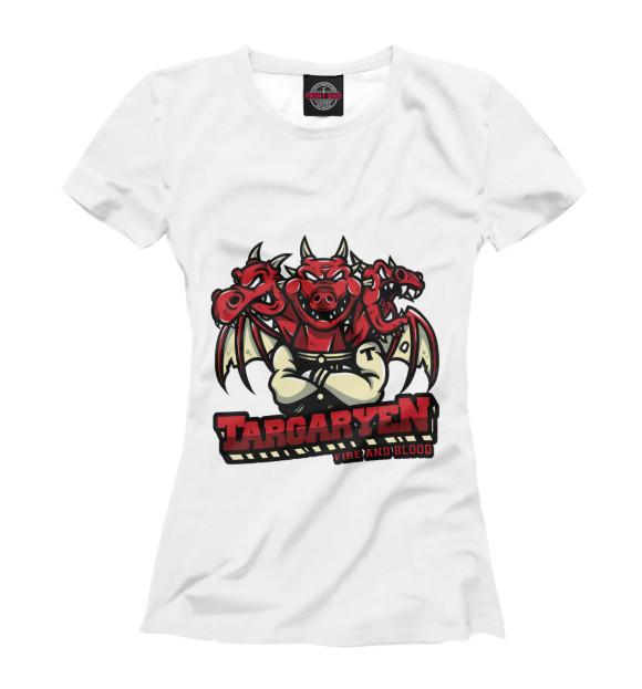 Купить Женская футболка Дом Таргариенов IGR-741662-fut-1