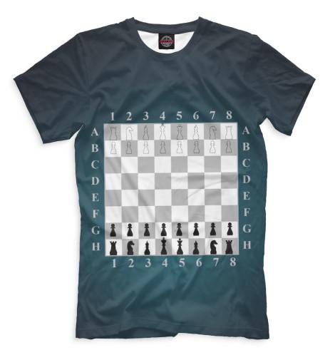 Футболка Print Bar Шахматы дорожные шахматы