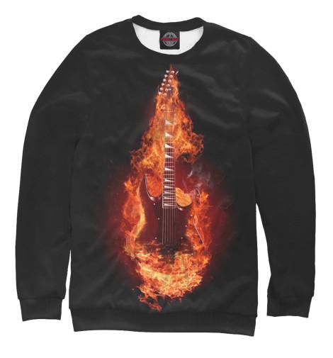Свитшот Print Bar Гитара в огне свитшот print bar череп в огне