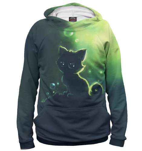 Купить Женское худи Коты CAT-985456-hud-1