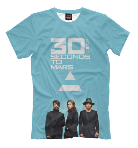 Футболка Print Bar 30 Seconds to mars футболка print bar discover mars