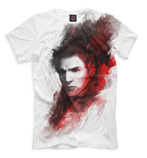 Мужская футболка Кастиэль