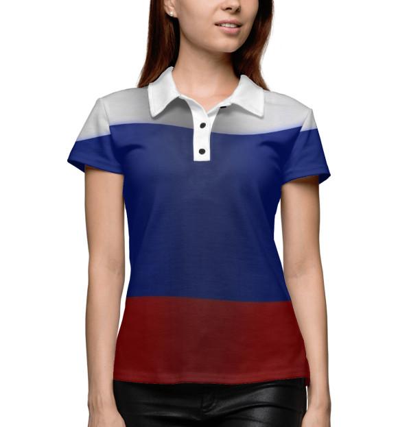 Купить Поло для девочки Триколор VSY-106500-pol-1