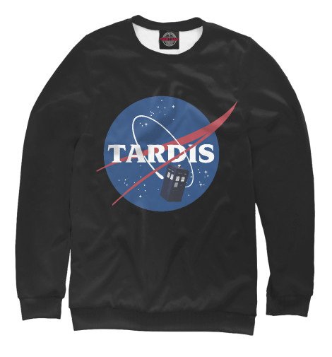 Свитшот Print Bar Tardis NASA свитшот print bar tardis man