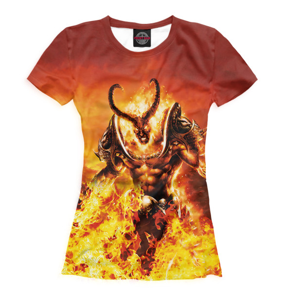 Купить Женская футболка World of Warcraft WOW-118850-fut-1