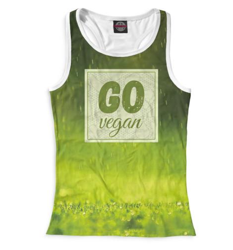 Майка борцовка Print Bar Go Vegan худи print bar cs go asiimov black