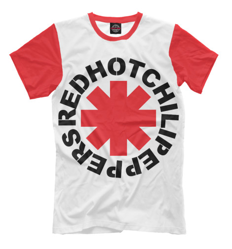 Футболка Print Bar Red Hot Chili Peppers футболка классическая printio red hot chili peppers