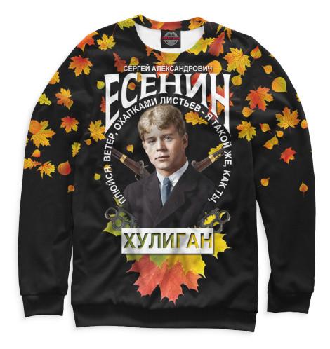 Свитшот Print Bar Сергей Есенин