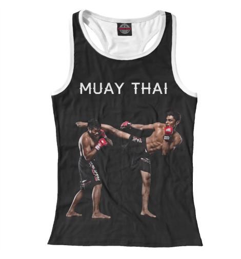 Майка борцовка Print Bar Муай Тай китайская школа боевых искусств самозащита муай тай