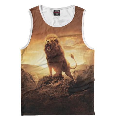 Майка Print Bar Savannah Lion сандалии savannah savannah sa040awiez63